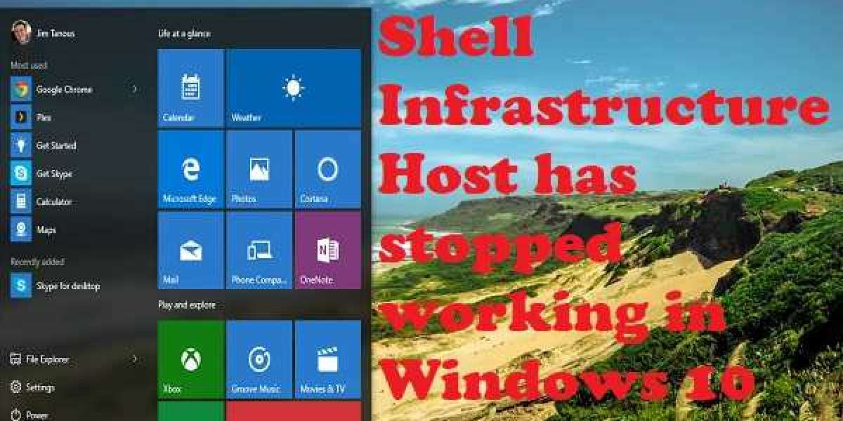 How to Fix Shell Infrastructure Host has stopped working in Windows 10