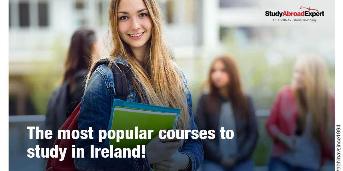 The most popular courses to study in Ireland