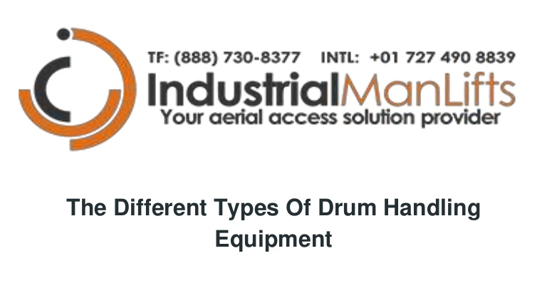 The different types of drum handling equipment