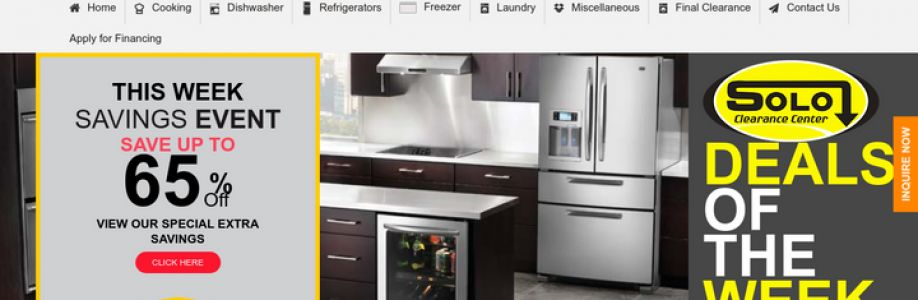 Appliance clearance sale Cover Image