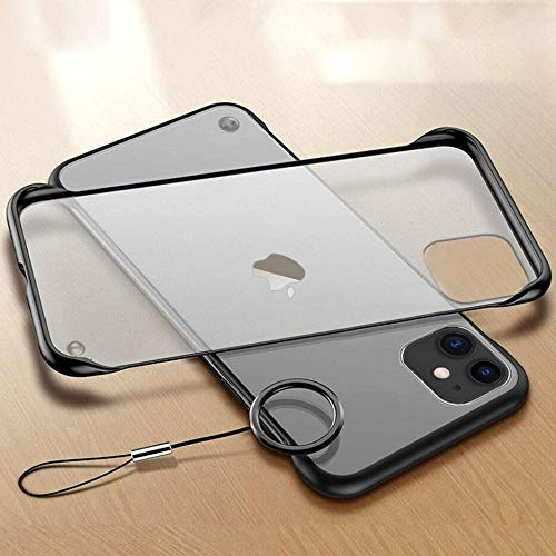 "Amozo IPhone 11 Cases And Covers | Frameless Series Matte Semi Transparent Ultra Slim Case Cover With Camera Protection For IPhone 11 (6.1"")"