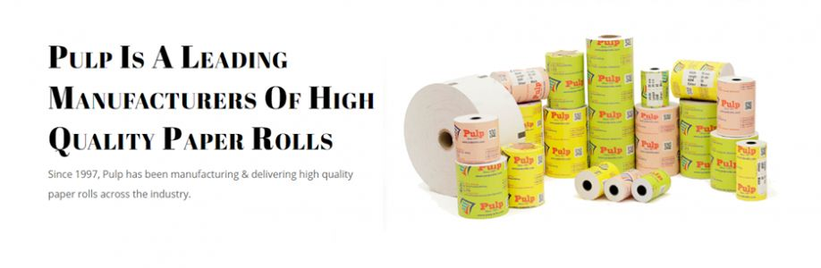 Pulp Paper Rolls Cover Image