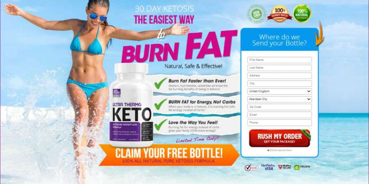 Ultra Thermo Keto- Burn Your Excess Fat & Get Slim Figure!