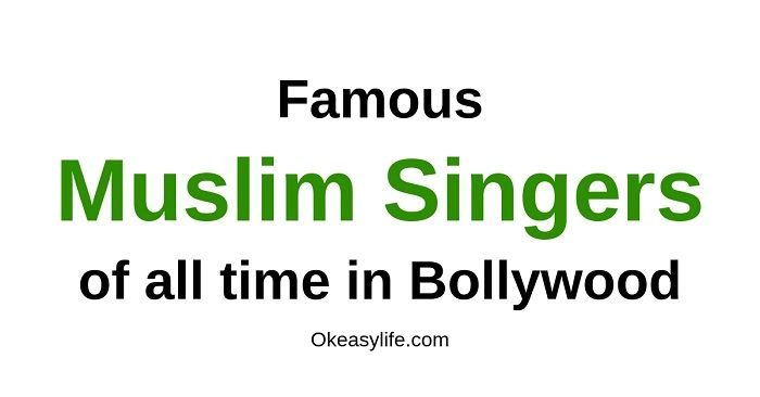 Top 7 Famous Muslim Singers in Bollywood, India {List of Best 2019}