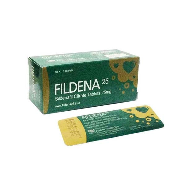 Fildena 25 Online Purchase |Reviews | FDA Approved