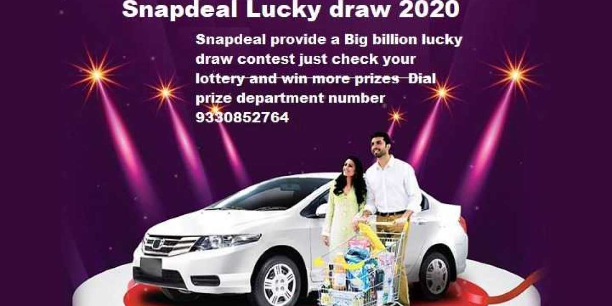 Snapdeal lucky Draw 2020   Snapdeal winner Call 91-9330852764