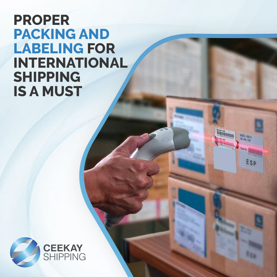 Significance of proper packaging and labeling in International shipping – Packaging company in UAE