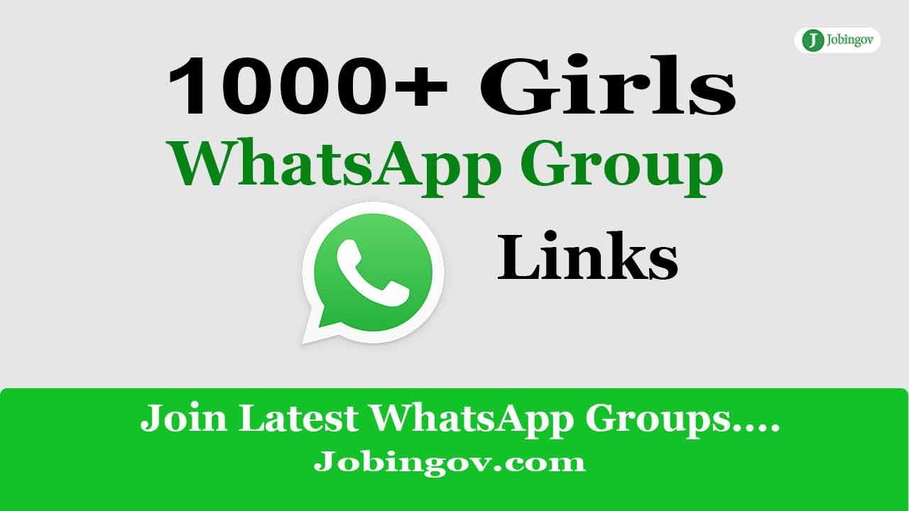 Girls WhatsApp Group Links | Join 1000+ Active Groups