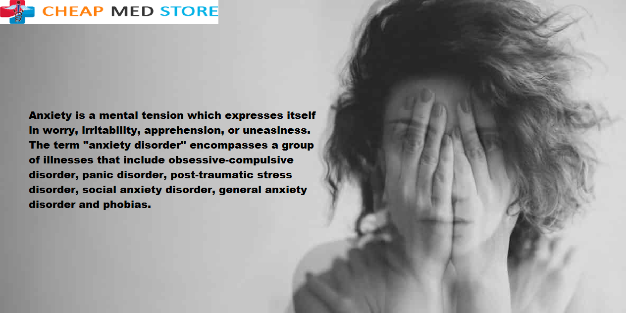 Xanax- An Operative Drug For Anxiety - Cheap Med Store