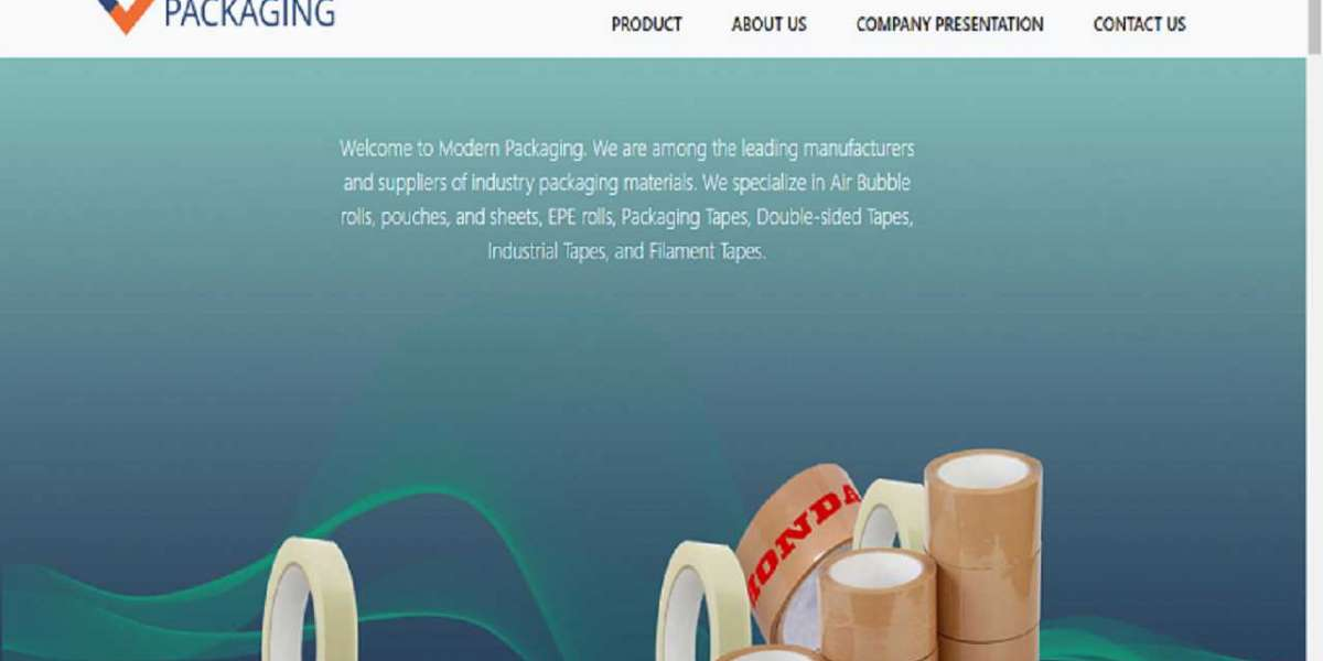 Modern Packaging - Air Bubble Pouch Manufacture