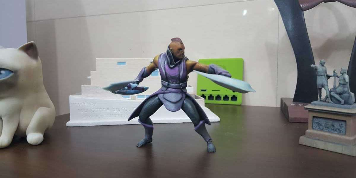 3D printing toys and game figurines