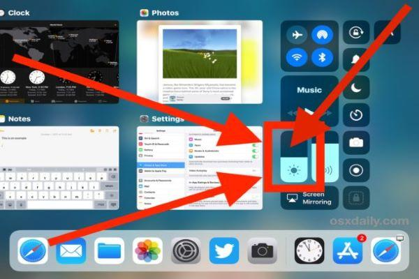 How to Enable/Disable Night Shift from Control Center on iPad and...