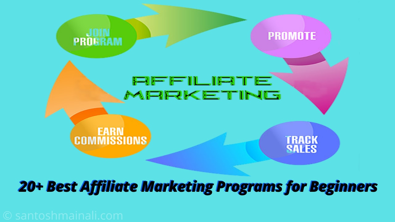 20+ Best Affiliate Marketing Programs for Beginners [2020] ~ Santosh Mainali | Information is Our Goals