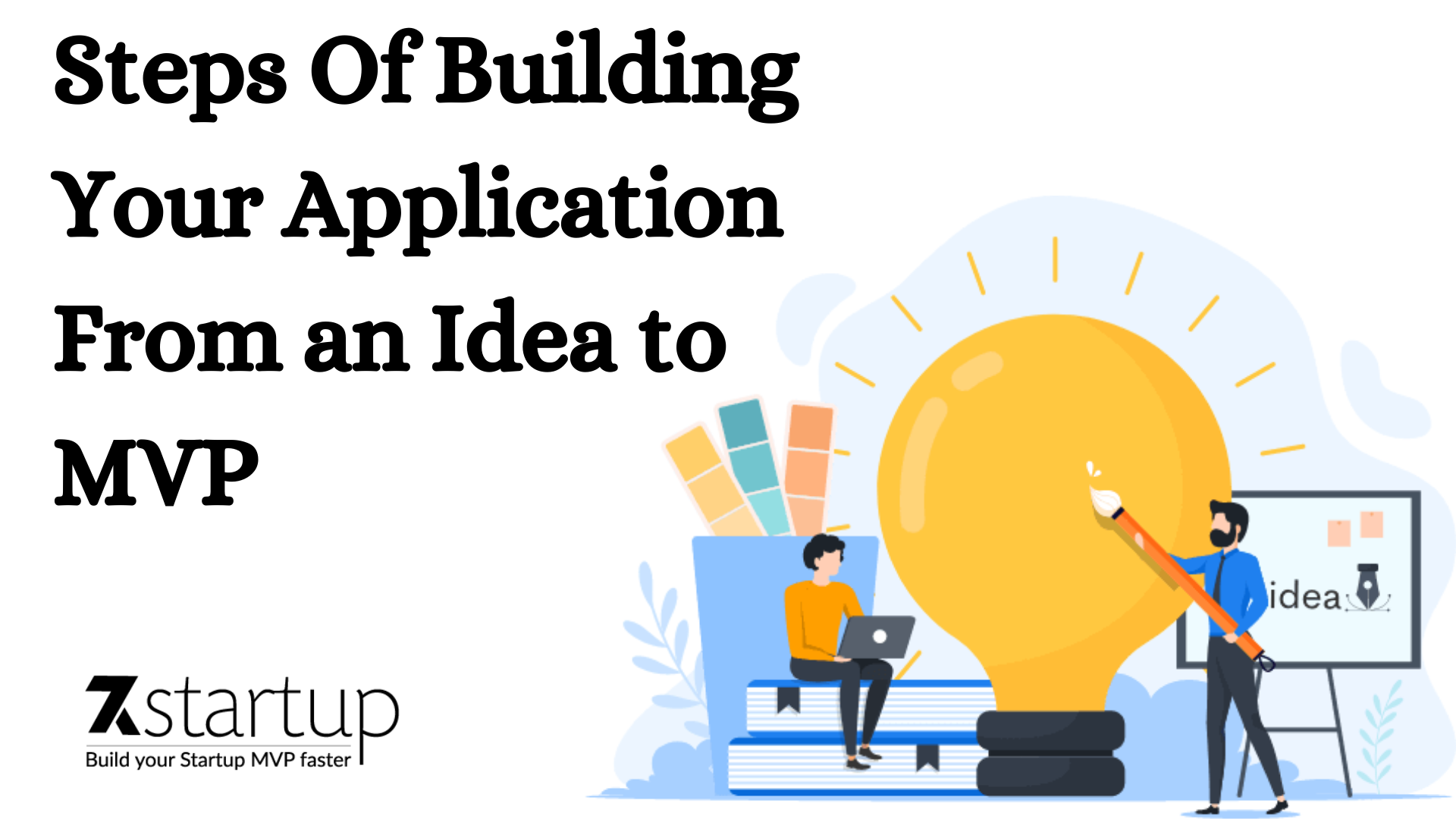 Steps Of Building Your Application From an Idea to MVP – 7k startup
