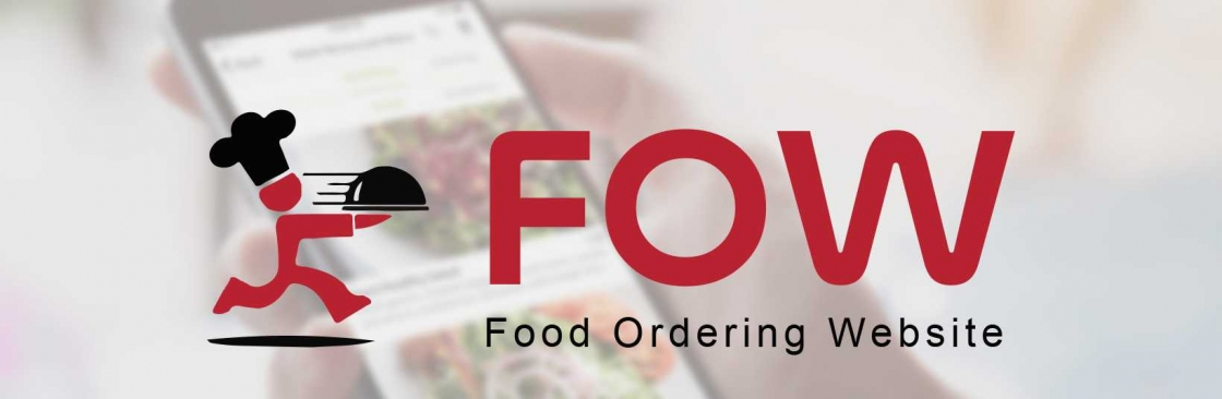 Food Ordering Website Cover Image