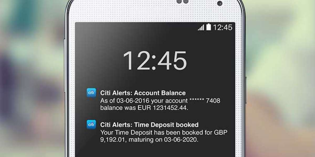 Notification and Alert SMS