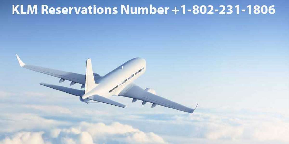 What is the Reservation Number of Klm Airlines?