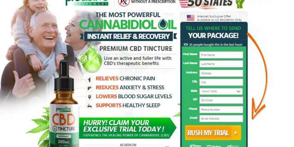Pro Active CBD for chronic pain relief!