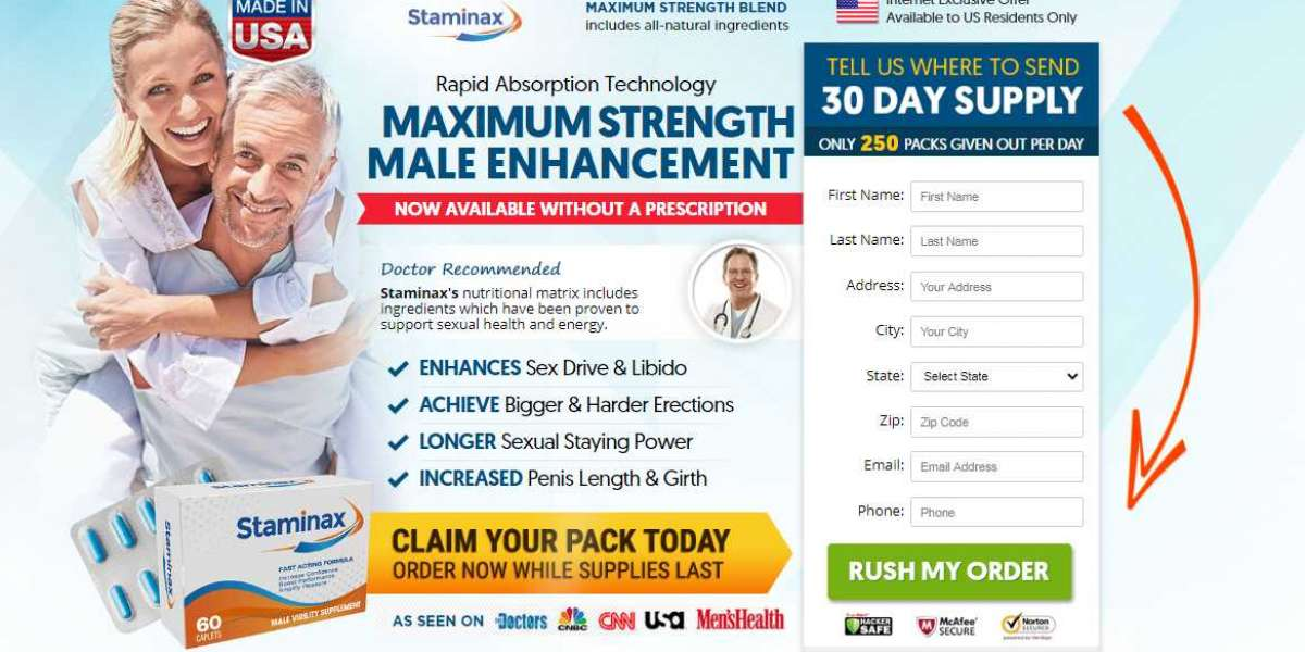 [Scam Or Legit] Staminax Male Enhancement Review: Read Latest Report Before Use!