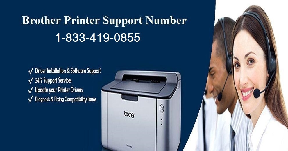 Why Choose Brother Printer Technical Support Number  +1-833-419-0855
