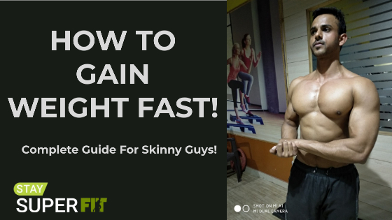 How To Gain Weight For Skinny Guys | Guide to Bulking Up Fast