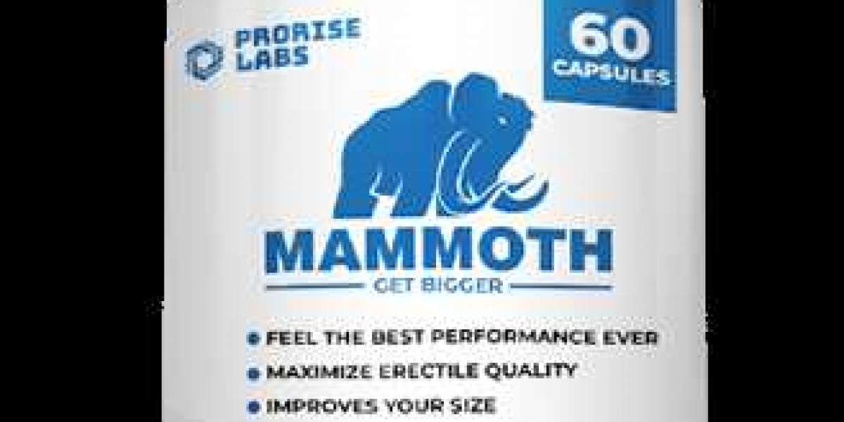 Mammoth Male Enhancement :Boost nitric oxide production