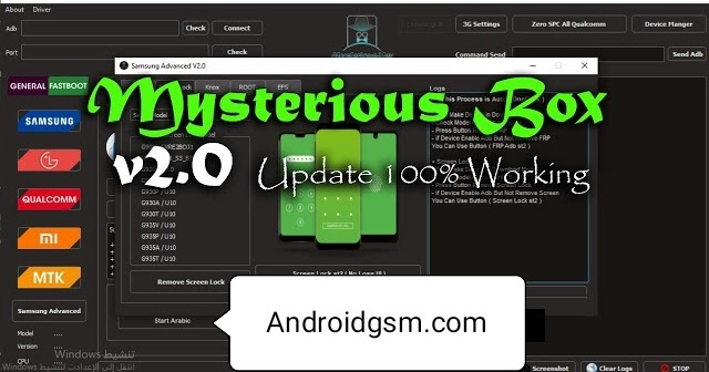 How To Download Mysterious-Box V1.1.0 Frp Unlock Tool 100% Working Latest Update 2020-21 Free Download To AndroidGSM - AndroidGSM.com