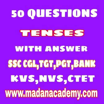 tenses practice questions-tenses exercises with answers pdf for ssc/tgt/pgt