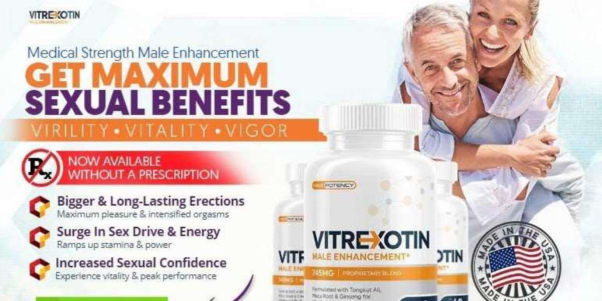 What Is Vitrexotin (Male Enhancement) – Is It Really Safe & Use?