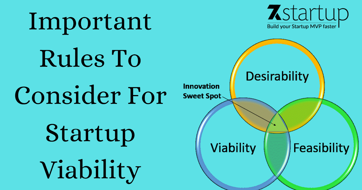 Important Rules To Consider For Startup Viability