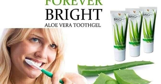 LIVE WITH NATURE(FOREVER LIVING)-WORLD BEST OPPORTUNITY: Strategic planning of avoiding Cancer:Forever Bright Aloe Tooth Gel