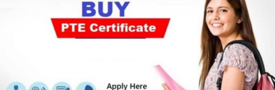 Buy PTE Certificate Cover Image