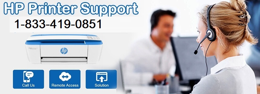 HP Printer Technical Support 1-833-419-0851 Phone Number