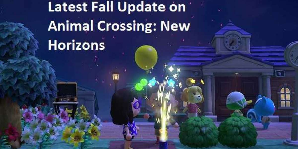 Latest Fall Update on Animal Crossing: New Horizons