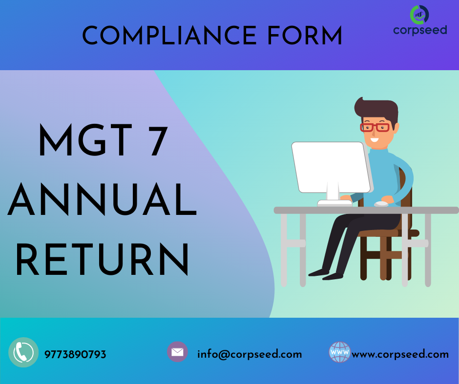 MGT 7 form :Corporate Annual Returns – Telegraph