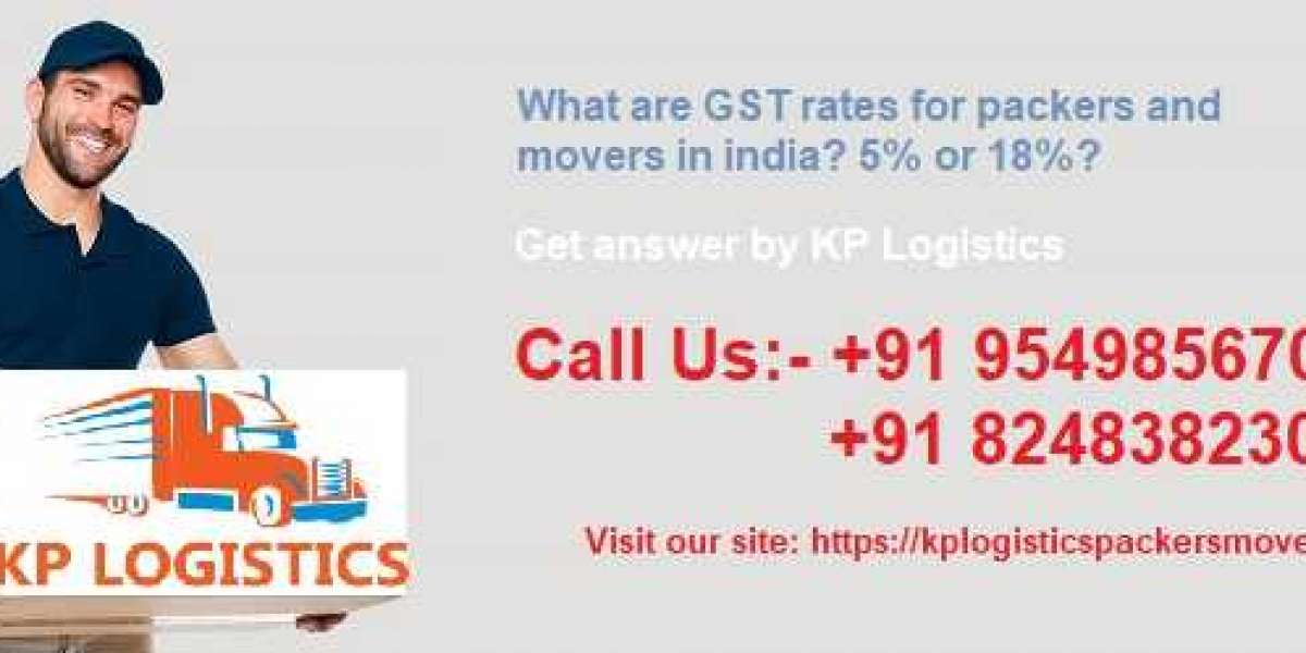 What are GST rates for packers and movers in india? 5% or 18%?