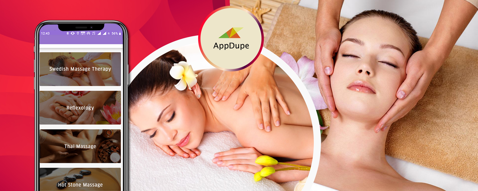 Massage apps are gradually occupying a firm place in the on-demand service market ; Scope and development - Blog   Appdupe