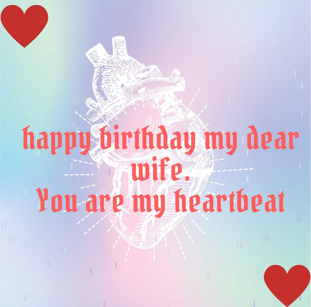 80+ Best Happy Birthday Quotes For Wife With Images
