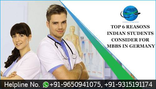 Top 6 Reasons Indian Students Consider for MBBS in Germany