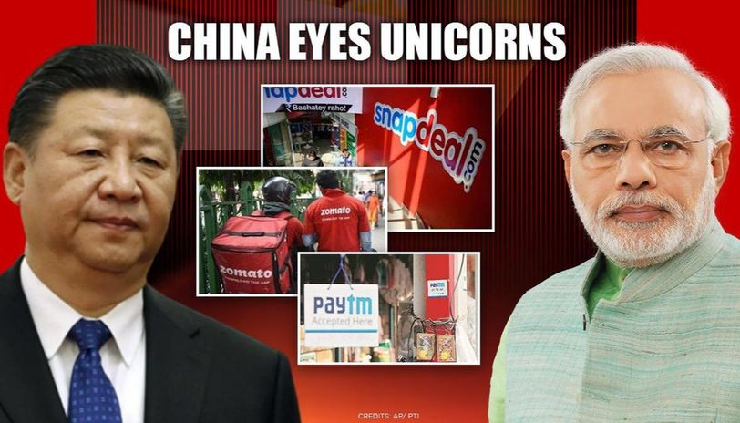 Top Indian Unicorn Companies Having China's Investment
