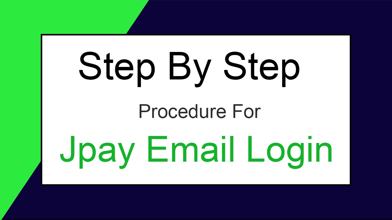 The Process of JPay Login and Solving Login Problems