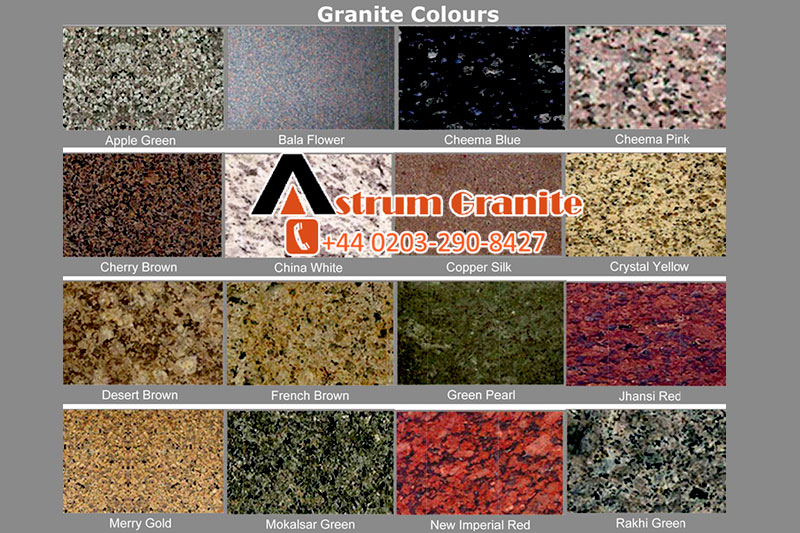 Get Prominent Granite Color Worktops Choices for Your Kitchen