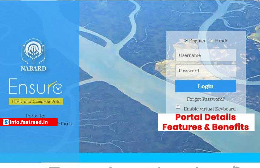 Login at NABARD ENSURE 2.0 Portal Registration – Direct transfer subsidy amount in beneficiary account | Fastread All Information