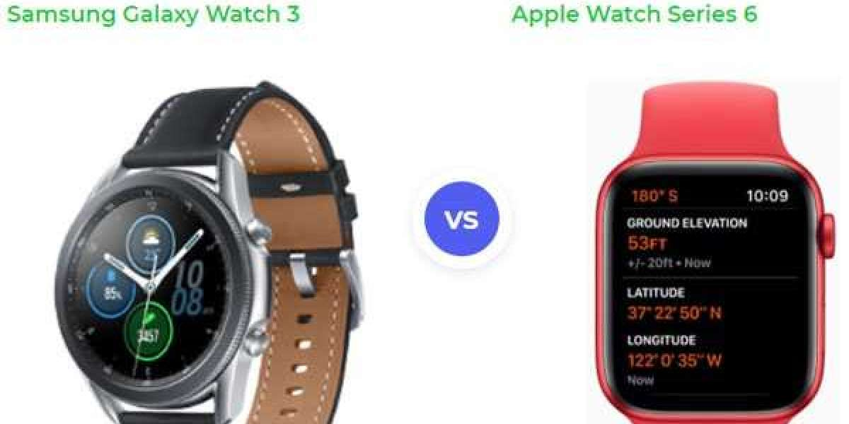Watch Series 6 Vs. Galaxy Watch 3
