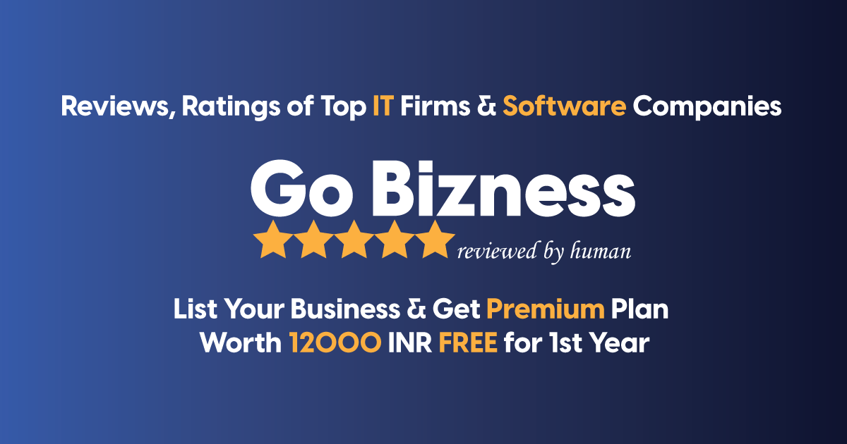 GoBizness - Reviews, Ratings of Top IT Firms & Software Companies