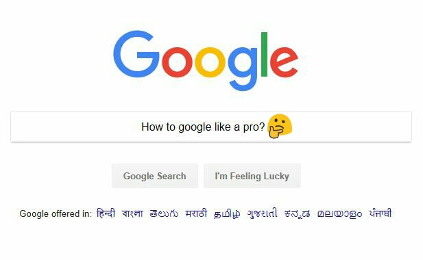 Advanced Google search! How to Google like a pro? - Techules