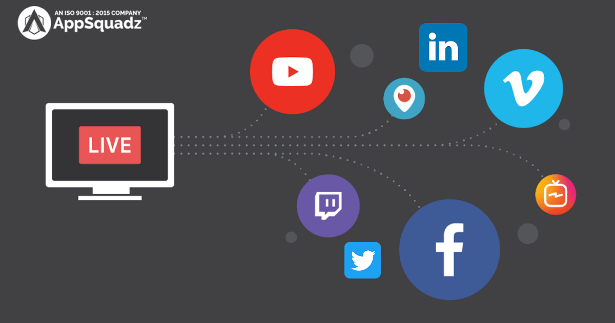 Mobile App Development Company: How Can You Live Stream Your Events on Social Media Platforms