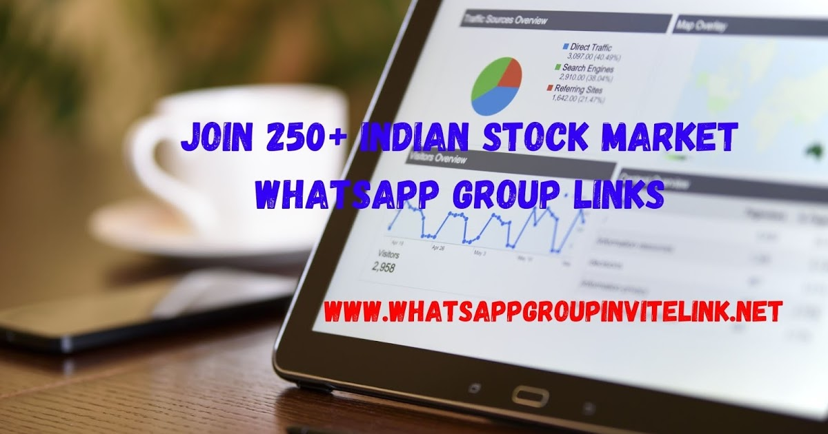 Join 250+ Indian Stock Market Whatsapp Group Links - Whatsapp Group Links