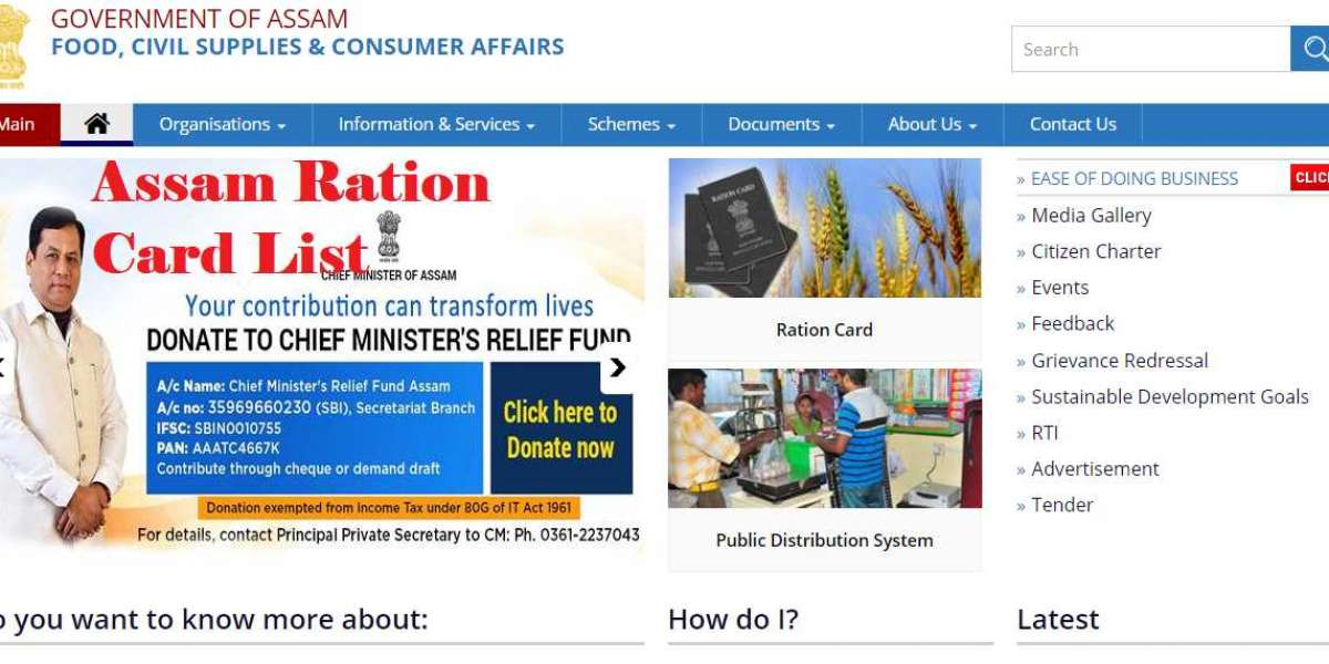 Assam Ration Card List 2020: Check District Wise, Download