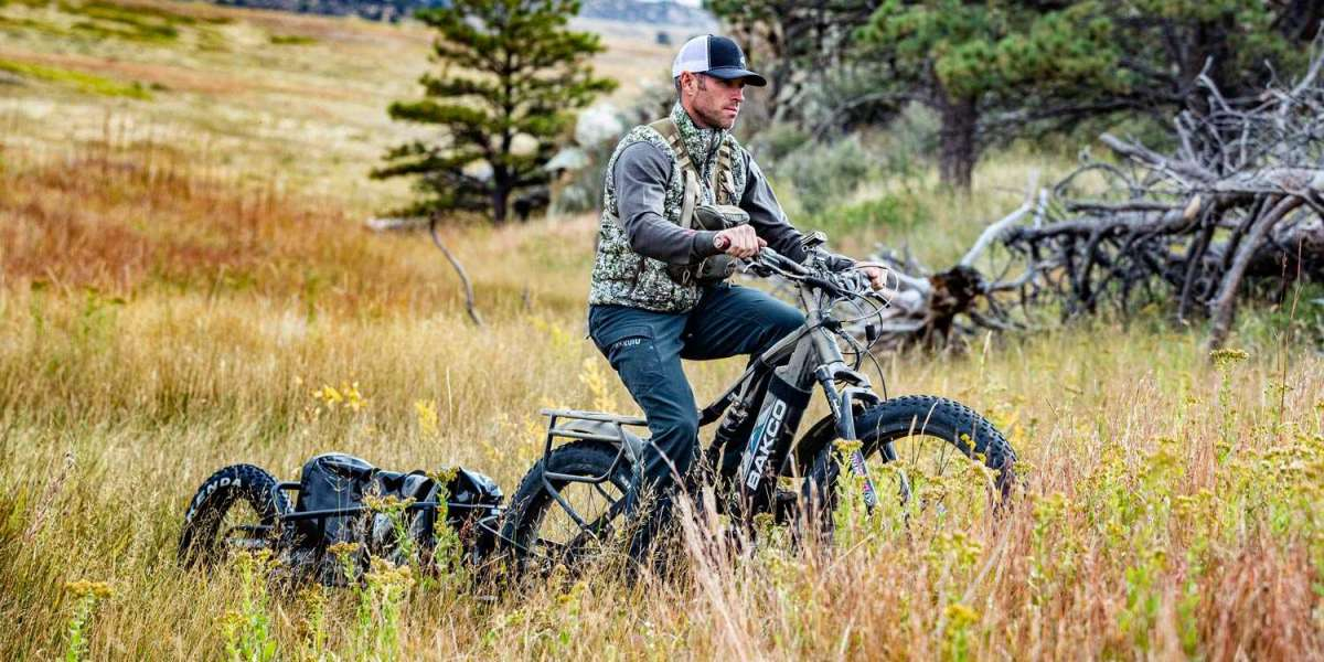 Why would you need an electric bicycle for hunting?